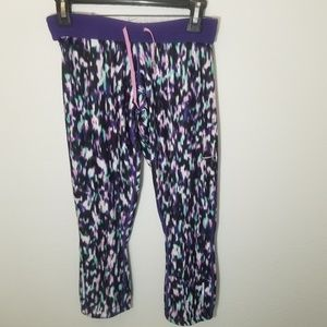 Nike| Multi Color Purple Leggings